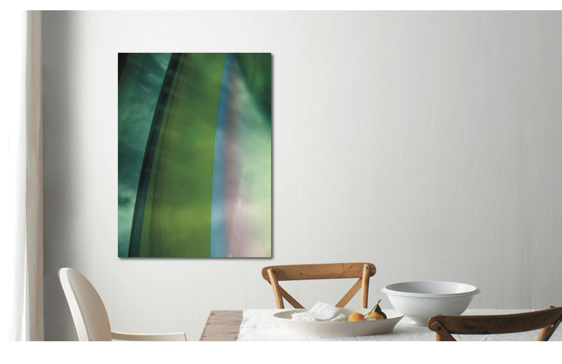 "Bows | ""Green Arching Up"" 