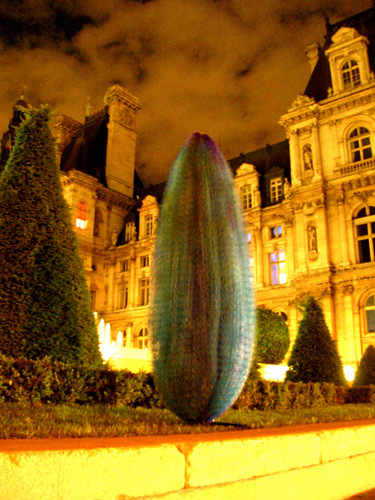 Cocoons | Installation view | Hotel De Ville, Paris, October 2006