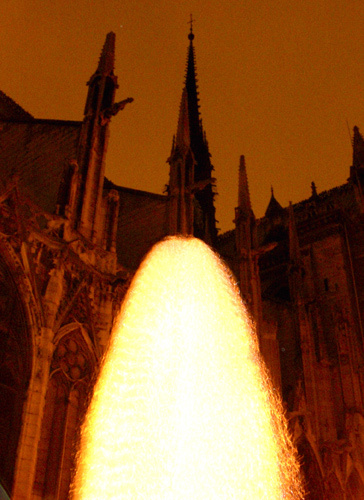 "Apparition | ""Behind Notre Dame Cathedral 3"" 