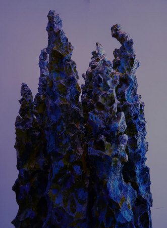 "Spires | ""Deep Blue #1"" 