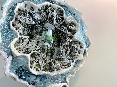 The Ice Storm Geode