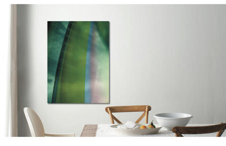 "Bows | ""Green Arching Up 2"" 