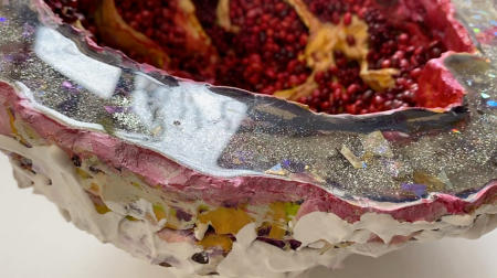 The Pomegranate Geode | Rime view