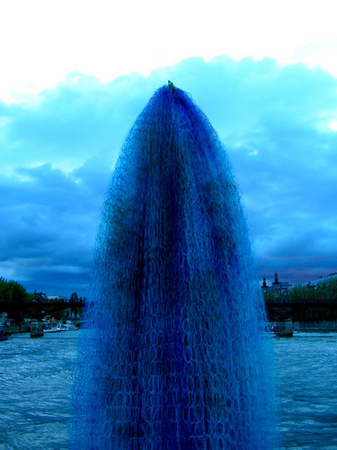 "Apparition | ""On Pont Neuf, Paris"" 